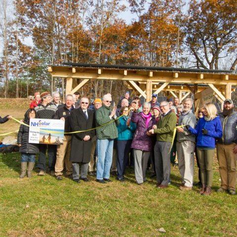 Dedication of NH Solar Shares array